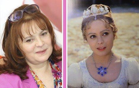 Nejkrásnější princezna je stále Libuše Šafránková.