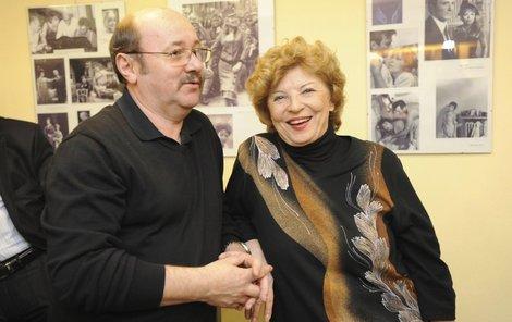 Libuše Švormová s manželem Janem.