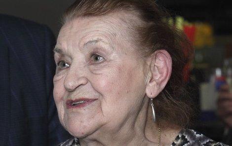 Věra Kubánková je stále vitální herečka.