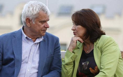 Zlata Adamovská a Petr Štěpánek oslavili výročí stylově.