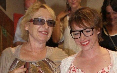 Tatiana Vilhelmová s maminkou.