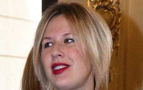 Tereza Černochová bude mít holčičku.