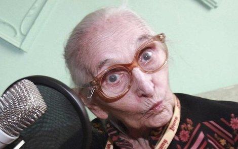 Anna Vejvodová zemřela ve věku nedožitý 89 let