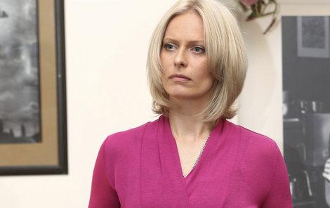 Zpráva, že se Lucie  vrací do práce o dva měsíce dřív, Kristinu zaskočila.