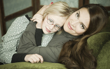 Mahulena Bočanová má s dcerkou bydlení snů.