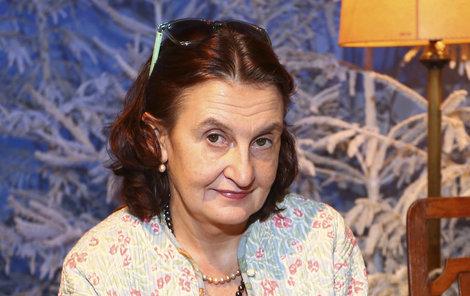 Eva Holubová jak ji známe.