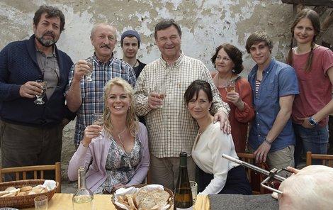 Co se skrývá za natáčením seriálu Vinaři?