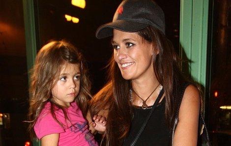 Petra Faltýnová a její dcera Adriana.