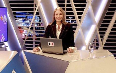 Černošková letos jako první česká žena moderovala OH v Soči.