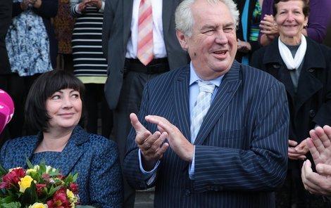 Miloš Zeman pozval do Česka ruského prezidenta.