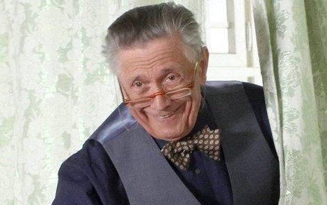 Mezi natáčením Kostka nešetřil úsměvy.