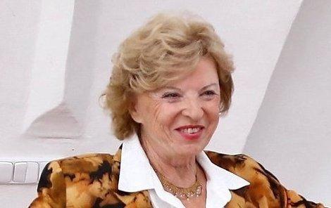 Libuše Švormová by ze starobního důchodu neměla ani na jídlo.
