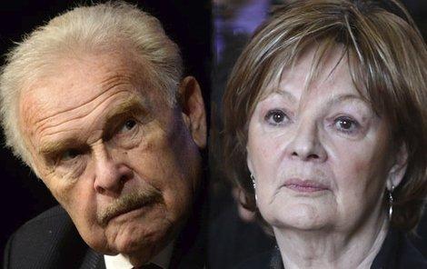 Manželé Luděk Munzar a Jana Hlaváčová nesou stáří těžce.