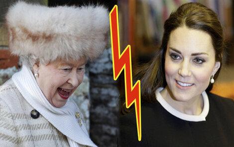 Kate si zahrává se zažitými pravidly. Objímání s černochem královnu nepotěšilo...