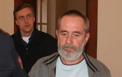 Jaroslav Paulina včera u soudu.