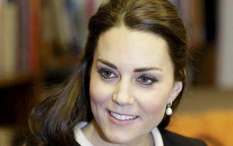 Krásná Kate Middleton si zahrála na modelku!