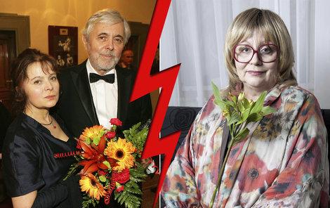 Naďa Urbánková dodnes cítí hořkost, že mu Šafránková přebrala Josefa Abrháma.