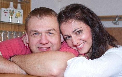 František Nedvěd mladší a Eva Skalická