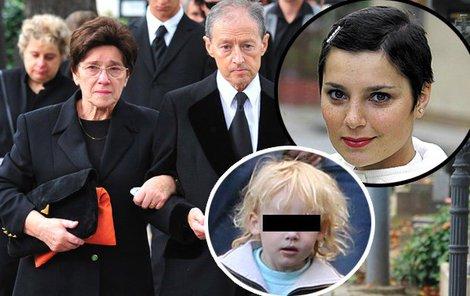 Herečka adoptovala Honzíka jen sedm měsíců před svou smrtí.