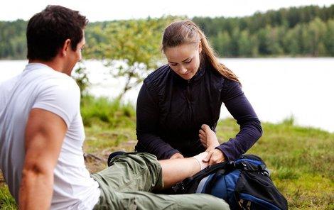 Umíte ošetřit nejzákladnější zdravotní komplikace?