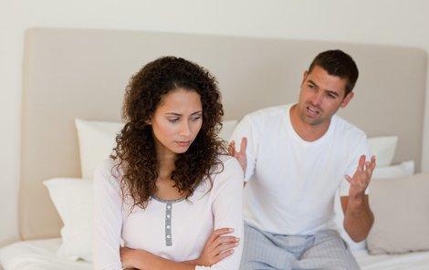 Rozvod mohou doprovázet hádky.