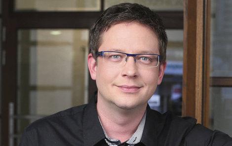 Aleš Cibulka patří mezi oblíbené televizní moderátory.
