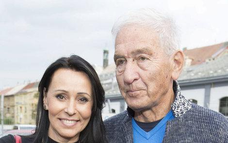 Heidi Janků s manželem Ivo Pavlíkem.