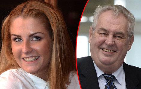 Miloš Zeman je ze své role nesvůj. Zatím to ale vypadá, že přítel Katky je sympaťák.