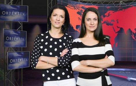 Anetta Kubalová (vpravo) moderuje Objektiv společně s Vendulou Krejčovou.