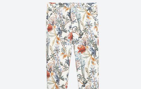 Květované kalhoty, Zara, 899 Kč.
