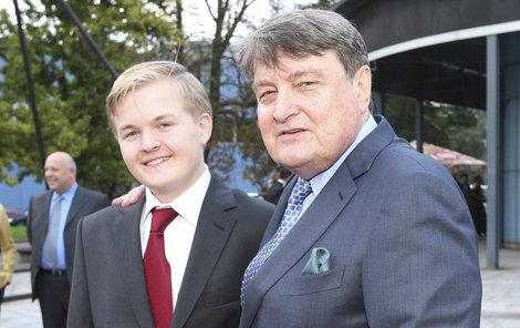 Táta Láďa Štaidl chce pro syna jen to nejlepší.