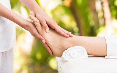 Reflexní terapií se můžete zbavit nejen bolesti...
