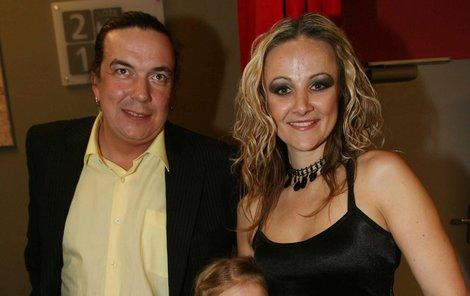 Linda Finková a Richard Genzer na rozvod zatím nijak netlačí.