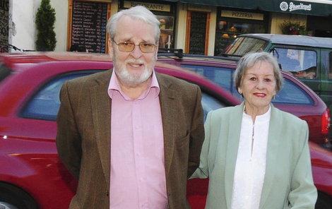 Vladimír Brabec s manželkou Naděždou.