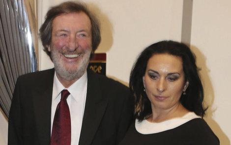 Bolek se svojí ženou Marcelou.