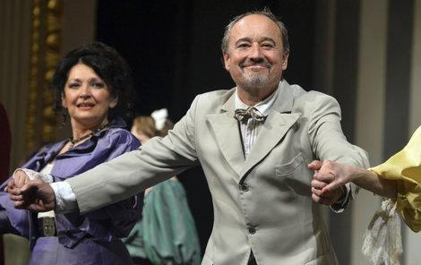 Viktor Preiss se loučil s divadlem.