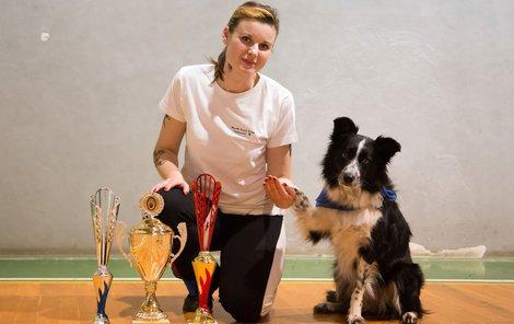 Irena Ištvánková s Laylou získaly bronzovou medaili.