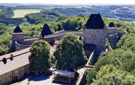 Na hradě Helfštýn se nachází i historická mincovna.