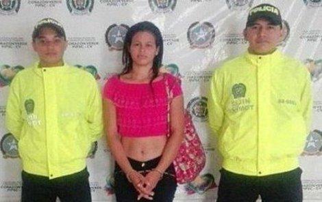 Yuri Patricia Sanchez nepůsobí jako nejnebezpečnější žena Kolumbie.