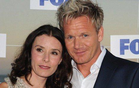 Gordon Ramsay a jeho žena Tana.