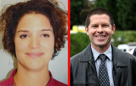 Zavražděný policista Jean-Baptista Salvaing s jeho manželkou.