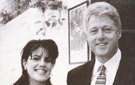 "Bill Clinton s ""oddanou"" stážistkou Lewinskou"