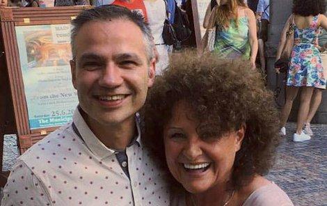 Jitka s Janisem Sidovským
