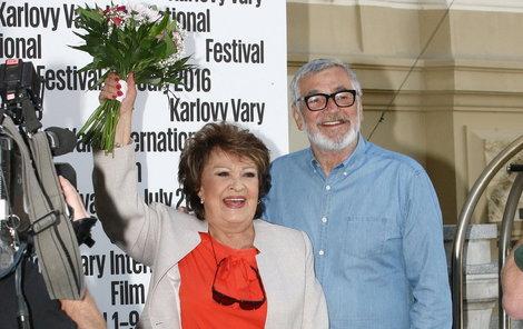 Jiřina získala Cenu prezidenta festivalu.