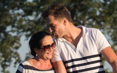 Hana Gregorová a Ondřej Koptík si užívají zaslouženou dovolenou.