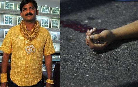 Muž se zlatou košilí skončil tragicky...