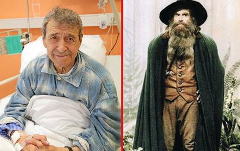 Herec byl v posledních letech více v nemocnici než doma.