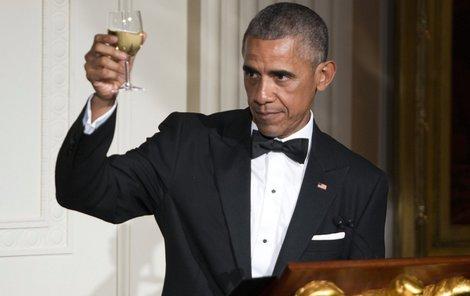 Barack Obama dnes slaví narozeniny. Přejeme všechno nejlepší.