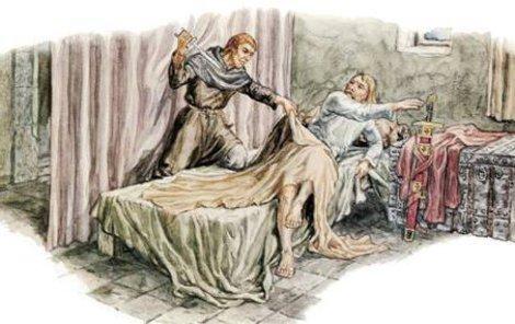 Král Václav III. byl zabit jako poslední vládnoucí Přemyslovec.
