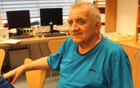 Josef Martinec se cítí mnohem lépe než před operací.